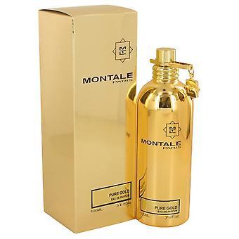 Montale pure gold eau de parfum spray by montale 539173 100 ml