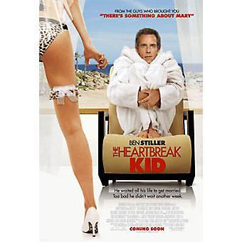 Heartbreak Kid (مزدوج الجانب الدولي) ملصق السينما الأصلي