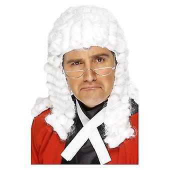 Perruque déguisements accessoires par le juge mens