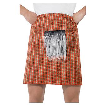 Mens Schotse Tartan Kilt Fancy Dress accessoire