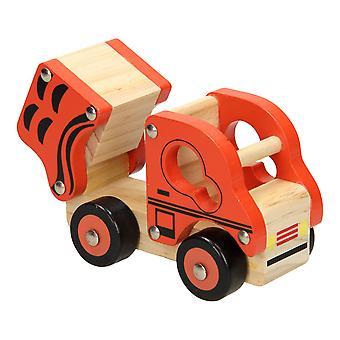 Hölzerne Kiep Auto Orange