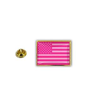 Pine PineS Pin Badge Pin-apos;s Metal Epoxy Flag USA USA Rose