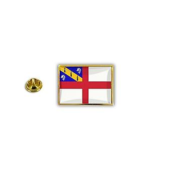 Pine PineS Badge Pin-apos;s Metal Epoxy With Herm Flag Butterfly Pinch