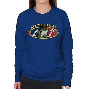 Beetle Bailey BB Logo Women's Sweatshirt