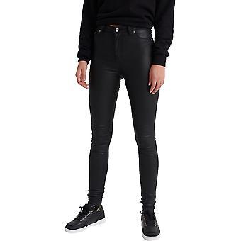 Superdry Sophia Coated Skinny Jeans Schwarz 49
