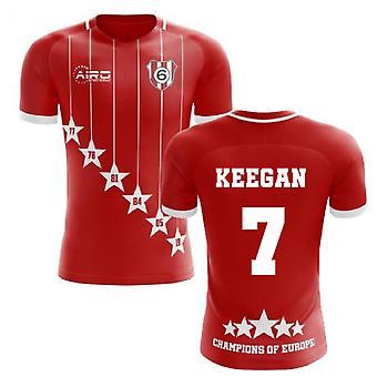 2019-2020 Liverpool 6 time Champions koncept fodboldtrøje (Keegan 7)