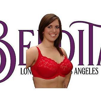 Berdita Lingerie 'Natalie' Red Underwired Stretch Lace Bra