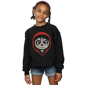Disney Girls Coco Miguel Skeleton Face Hood Sweatshirt