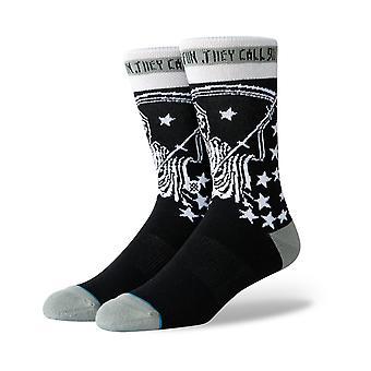 Stance Have Fun Crew Socks in Black