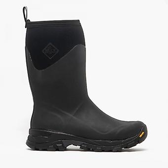 Muck Boots Arctic Ice Mid Mens Wellington Boots Black