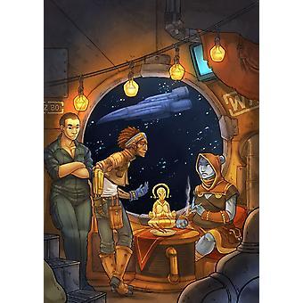 Flotsam Adrift Amongst the Stars RPG Book