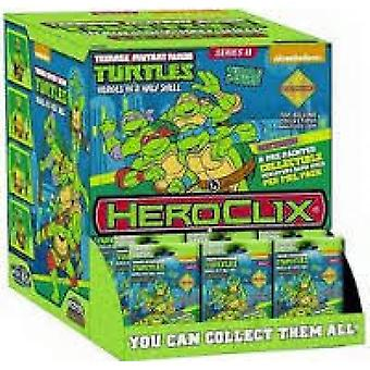 TMNT HeroClix Gravity Feed 2 - 24 Packs Board Game (Pack of 24)
