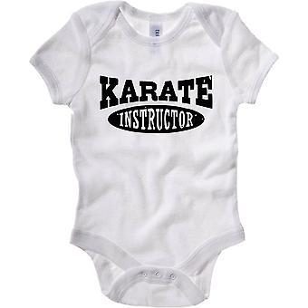 Body neonato bianco tam0071 karate instructor