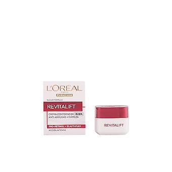L'Oreal Make Up Revitalift Contorno Ojos Anti-arrugas 15 ML Pentru femei