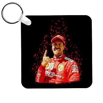 Motorsport Images Sebastian Vettel Pole Position Victory Canadian GP Key Ring