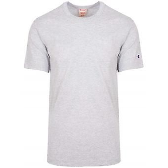 Champion Champion Reverse Weave Grey Arm Logo T-Shirt