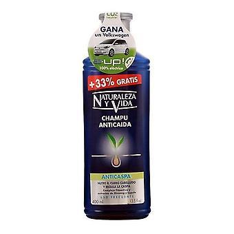 Anti-Dandruff and Anti-Hair Loss Shampoo Naturaleza y Vida