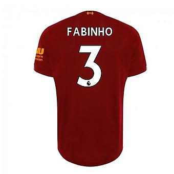 2019-2020 Liverpool Home Football Shirt (Fabinho 3)