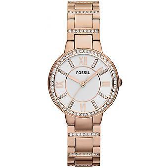 Fossiele ES3284 watch - staal goud roze vrouw