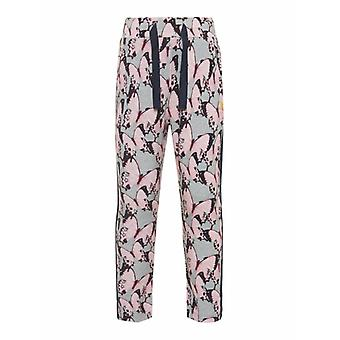 Nome It Girls Pants Filuna Grey Melange