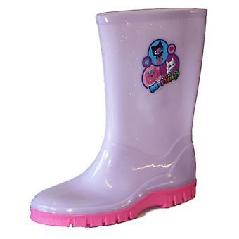 Filles Kids Novelty Moshi Monsters Wellies Wellington Rain Boots