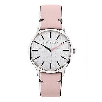 Ted Baker BKPPOF903 Women's Poppiey Pink Strap Wristwatch