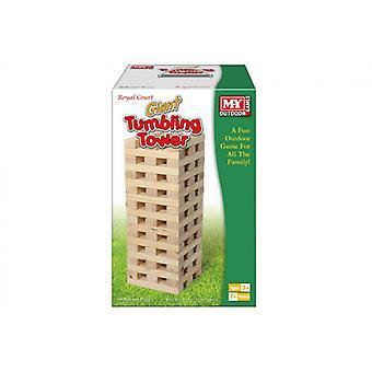 Pezzo di legno Tumbling Torre 60 manfredelli gigante