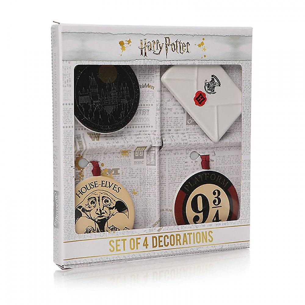 Half Moon Bay Decoration Set Of 4 Harry Potter