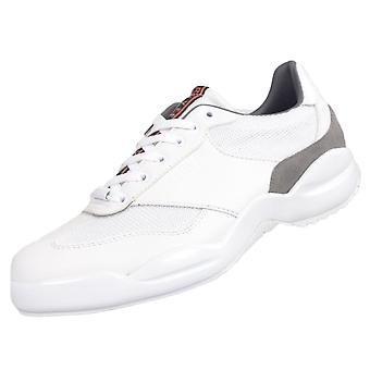 Cruyff Classics Liga Leather/mesh White Trainer