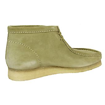 Clarks originals wallabee men's maple suede boots