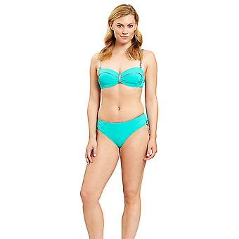 Féraud 3205158-10841 Frauen's Türkis nicht gepolstert unterverdrahteten Bikini-Set