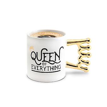 Bigmouth queen of everything mug