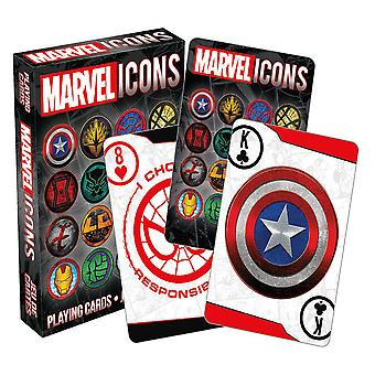 Marvel Icons Playing Cards