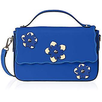 Chicca Bags 1543 Blue Women's handbag (Blue) 25x16x7 cm (W x H x L)