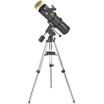 BRESSER Pollux 150/750 EQ3 Telescopio con filtro solare