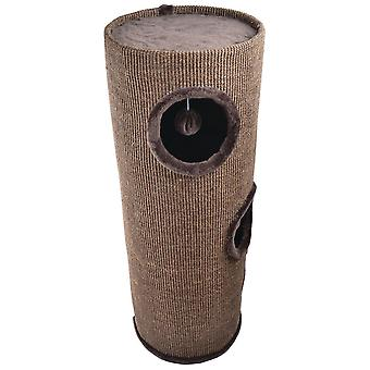 Freedog Brown Tower Scraper (Cats , Toys , Scratching Posts)