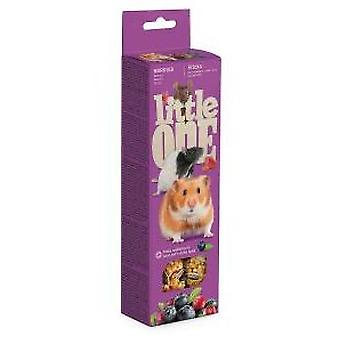 Little One Palitos de Snacks con Bayas (Small pets , Treats)