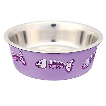 Trixie Stainless Steel Bowl 0.3L, 12cm (Dogs , Bowls, Feeders & Water Dispensers)