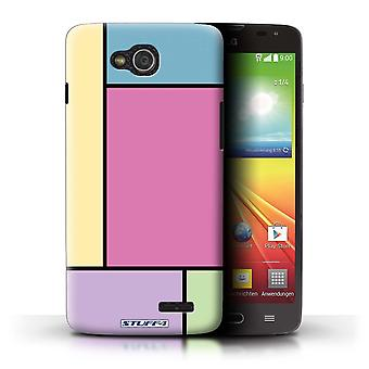STUFF4 Case/Cover for LG L90 Dual/D410/5 Tiles/Pink/Pastel Tiles