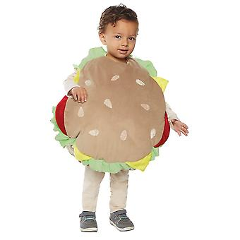 Hamburger Toddler Costume