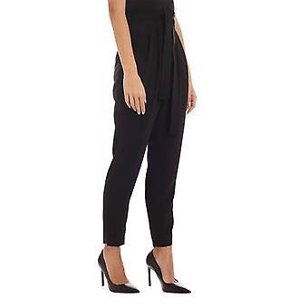 P.a.r.o.s.h. D230427013 Women's Black Polyester Pants