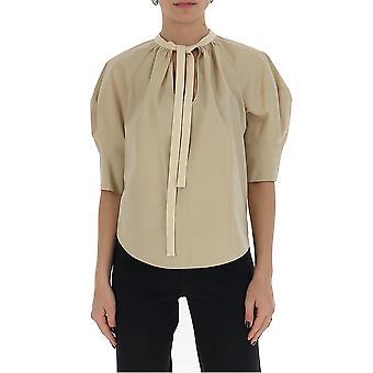 Chloé Chc20uht4504120j Women's Beige Cotton Blouse