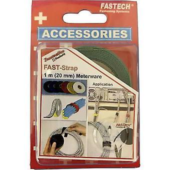 FASTECH® 910-650C Krok-och-slinga tejp för buntning Krok och slinga pad (L x W) 1000 mm x 20 mm Grön 1 m