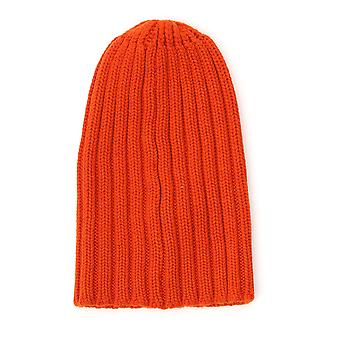 Laneus Acu306cc11arancio Men's Orange Wool Hat