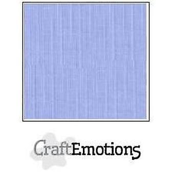 CraftEmotions linen cardboard 10 Sh light jeans LHC-42 A4 250gr