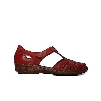 Josef Seibel Rosalie 29 rote Leder Damen Sommerschuhe