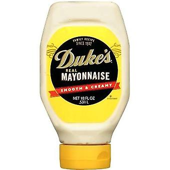Duke's Real Mayonaise Smooth & Creamy 18 oz Fles
