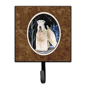 Starry Night Wheaten terrieri pehmeä päällystetty talutushihna haltija tai avain koukku
