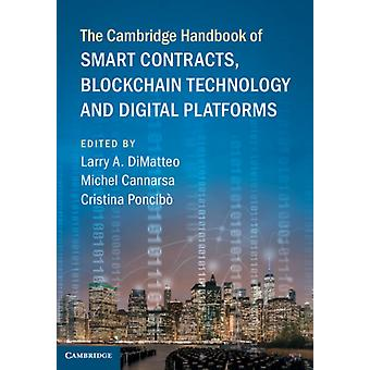 Cambridge Handbook of Smart Contracts Blockchain Technology by Larry A DiMatteo
