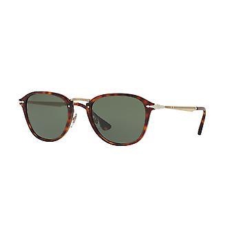 Persol Calligrapher Edition PO3165S 24/31 Havana/Green Sunglasses